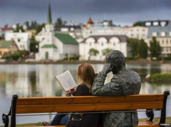 Leer en Islandia