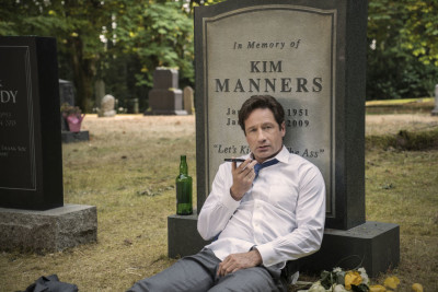 """THE X-FILES: David Duchovny in the """"Mulder & Scully Meet the Were-monster"""" episode of THE X-FILES airing Monday, Feb. 1 (8:00-9:00 PM ET/PT) on FOX. ©2016 Fox Broadcasting Co. Cr: Ed Araquel/FOX"""