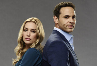 "NOTORIOUS - ABC's ""Notorious"" stars Piper Perabo as Julia and Daniel Sunjata as Jake. (ABC/Kevin Foley)"